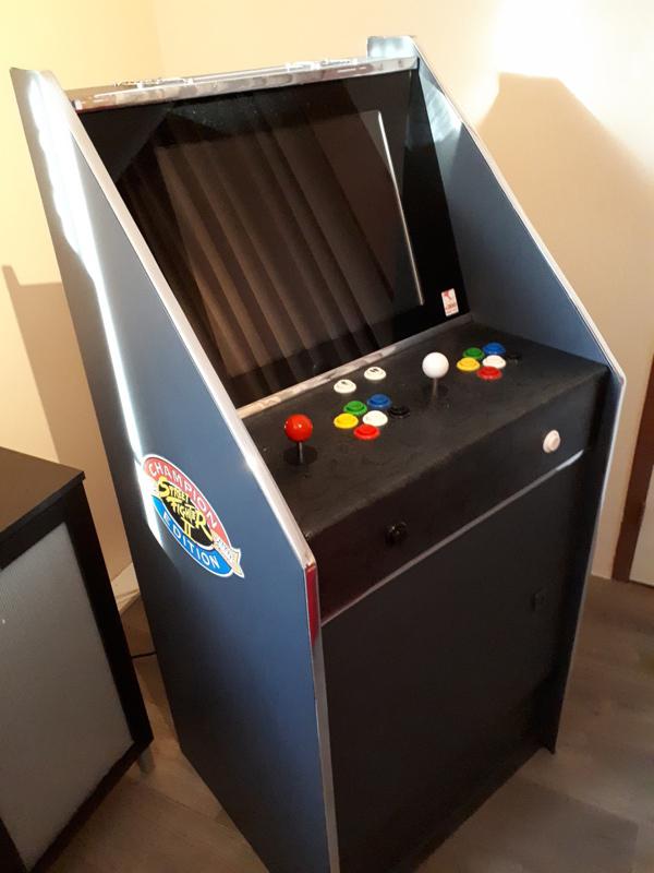 [DIY] 3ème projet: Mini borne 2 players (100%) 20201214