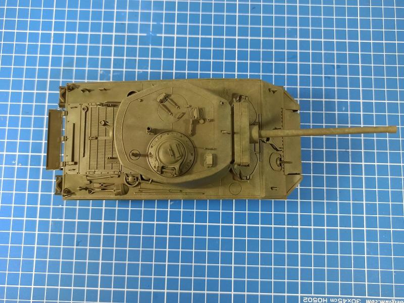[Terminé] M4A3E2 Sherman 'Jumbo' [Tasca 35-021] - 1/35 - Page 4 0137