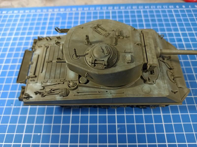 [Terminé] M4A3E2 Sherman 'Jumbo' [Tasca 35-021] - 1/35 - Page 3 0334
