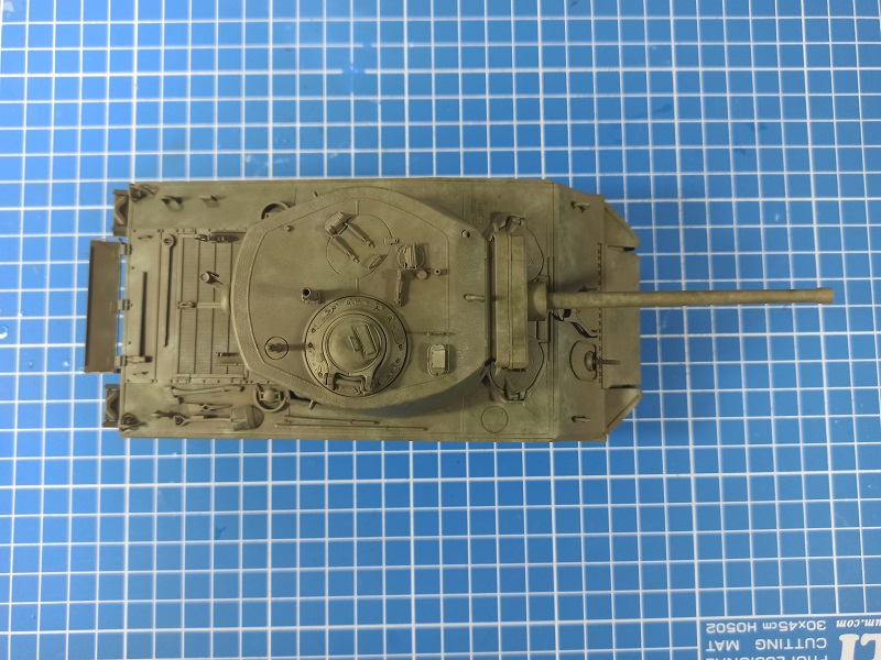 [Terminé] M4A3E2 Sherman 'Jumbo' [Tasca 35-021] - 1/35 - Page 4 0335