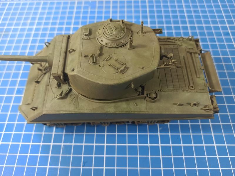 [Terminé] M4A3E2 Sherman 'Jumbo' [Tasca 35-021] - 1/35 - Page 4 0429