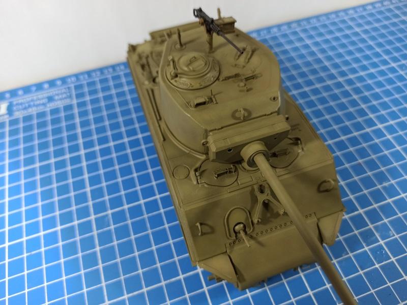 [Terminé] M4A3E2 Sherman 'Jumbo' [Tasca 35-021] - 1/35 - Page 3 0520