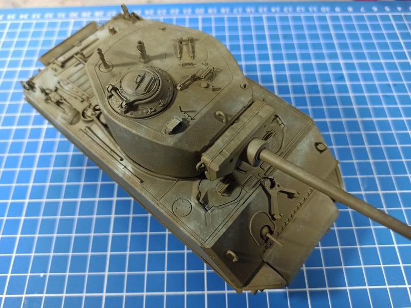 [Terminé] M4A3E2 Sherman 'Jumbo' [Tasca 35-021] - 1/35 - Page 3 0521