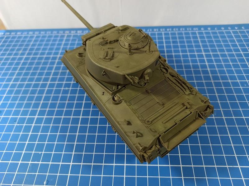 [Terminé] M4A3E2 Sherman 'Jumbo' [Tasca 35-021] - 1/35 - Page 4 0523