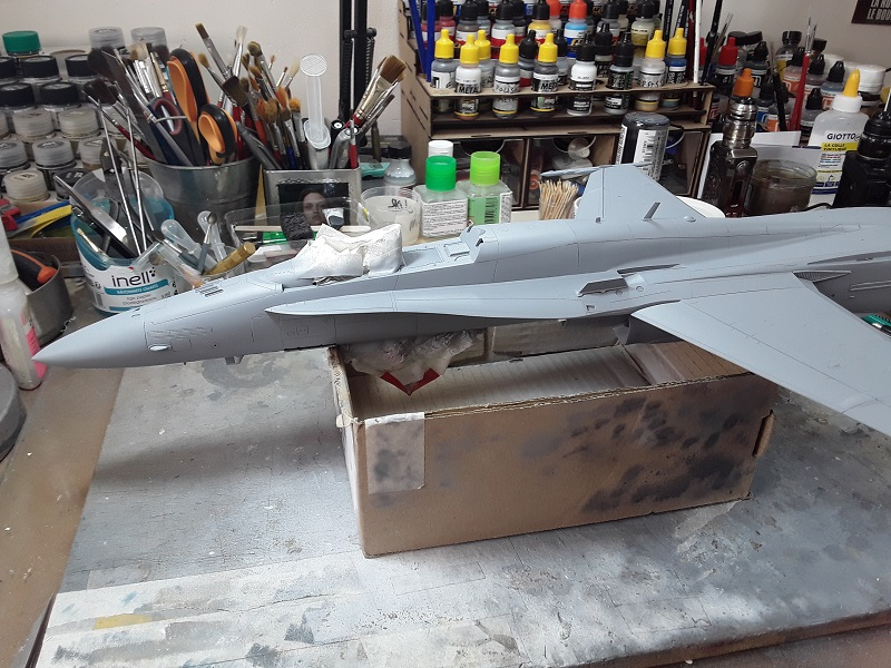 F-18 A+ 1/32 [Academy 12107] [Montage terminé] 0710