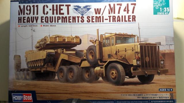 M911 C HET w/M747 HEAVY EQUIPMENT SEMI TRAILER de HOBBY BOSS AU 1/35 20200210