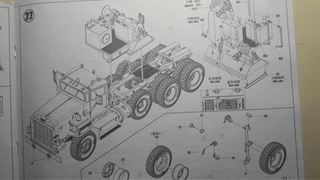 M911 C HET w/M747 HEAVY EQUIPMENT SEMI TRAILER de HOBBY BOSS AU 1/35 20200217