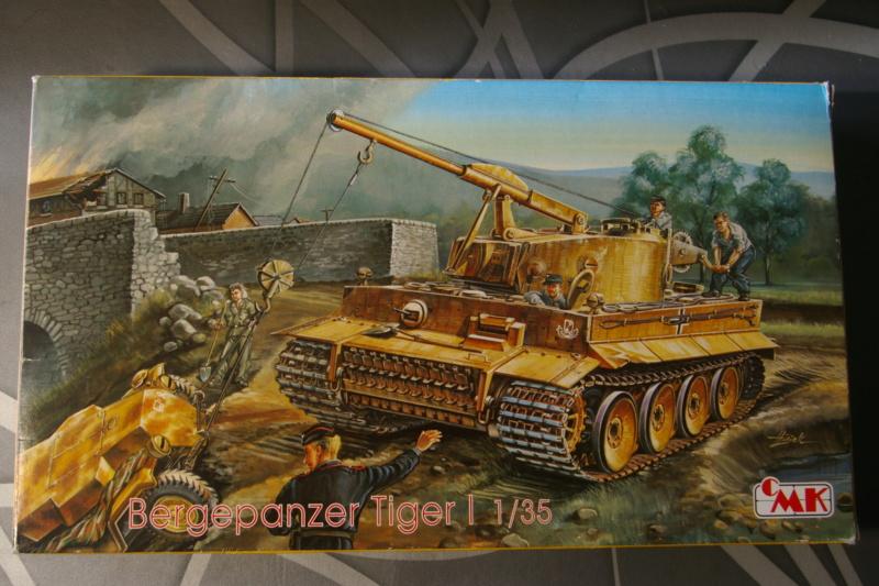 LE BERGEPANZER TIGER 1 SdkfZ 185 de CMK Ech 1/35 Imgp6729