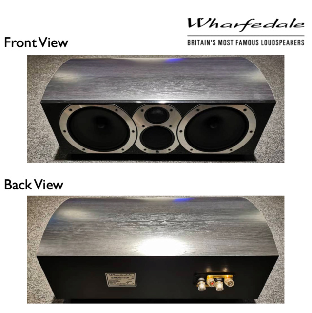Wharfedale Diamond 10.CM Centre Channel Speaker (Used) Diamon11