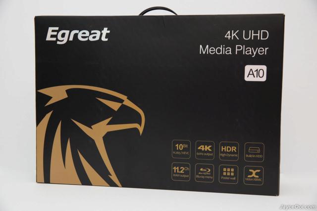 Egreat A10 4K UHD Media Player With Original Box (Demo Unit) Egreat12