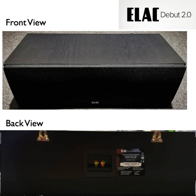 Elac Debut 2.0 C5.2 Centre Speaker (Used) SOLD Elac_511