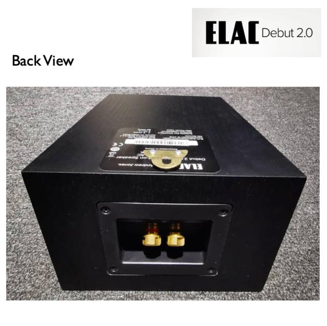 Elac Debut 2.0 A4.2 Atmos Module Speaker (Used) Elac_a10