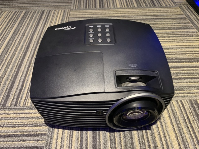 OPTOMA HD50 home theater projector(used)  Img_0419