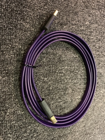 Wireworld Ultraviolet USB Type A to Type B Cable (1.5m) (used)SOLD Img_0715