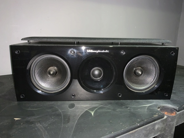 Wharfedale Obsidian Centre Speaker (used)SOLD Img_0721