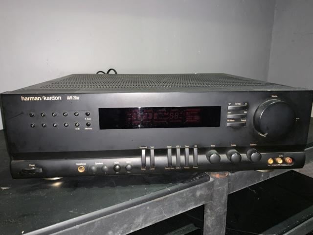 Harman Kardon AVR 20ii AV Stereo Receiver Home Theater(used) Img_0725