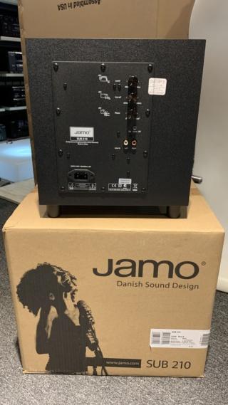 """Jamo SUB 210 8"""" Inch Subwoofer Img_0730"""