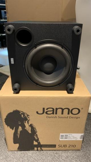 """Jamo SUB 210 8"""" Inch Subwoofer Img_0731"""