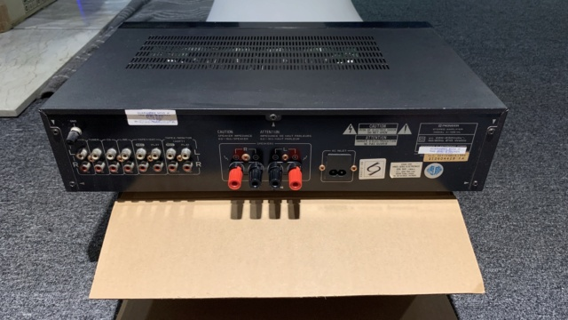 Pioneer A-105 Stereo Integrated Amplifier (USED) Img_0913