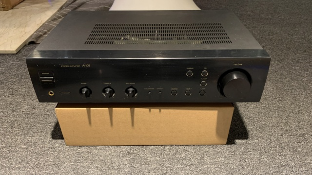 Pioneer A-105 Stereo Integrated Amplifier (USED) Img_0914
