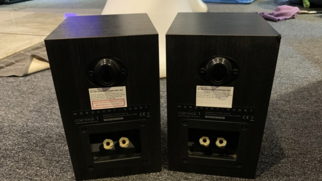 Mordaunt Short Carnival 1 Surround Speakers (Used) Img_1010
