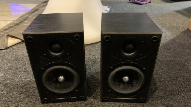 Mordaunt Short Carnival 1 Surround Speakers (Used) Img_1012