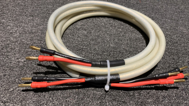 Chord Carnival Silver Speaker Cable (2.3m) 1pair  Img_1311