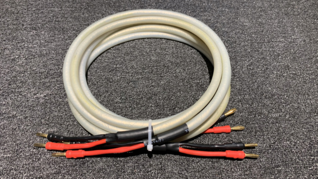 Chord Carnival Silver Speaker Cable (2.3m) 1pair  Img_1312