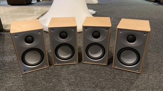 Mordaunt Short MS 302 Surround Speakers 2Pair (Used) Img_1417