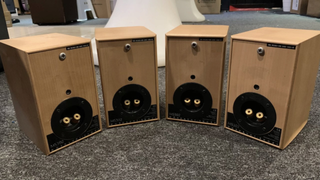 Mordaunt Short MS 302 Surround Speakers 2Pair (Used) Img_1421