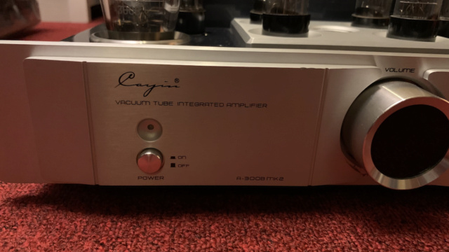 Cayin A-300B MKll Class A single-end tube Integrated Amplifier (Used) Img_1625