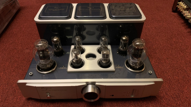 Cayin A-300B MKll Class A single-end tube Integrated Amplifier (Used) Img_1626