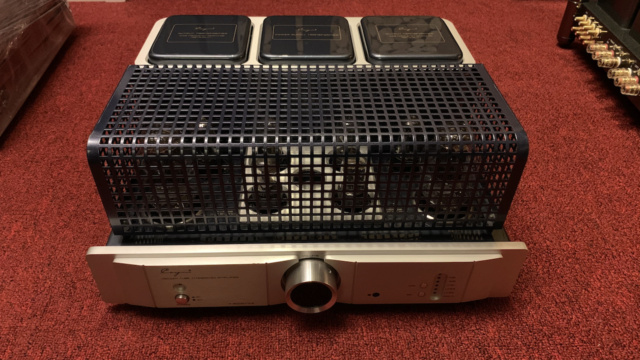 Cayin A-300B MKll Class A single-end tube Integrated Amplifier (Used) Img_1627