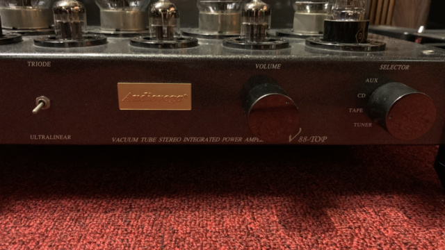 AudioVega V88-Top Tube Amplifier (Used) Img_1629