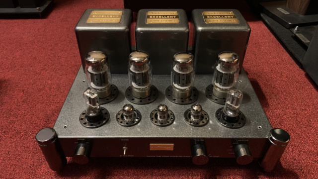 AudioVega V88-Top Tube Amplifier (Used) Img_1630