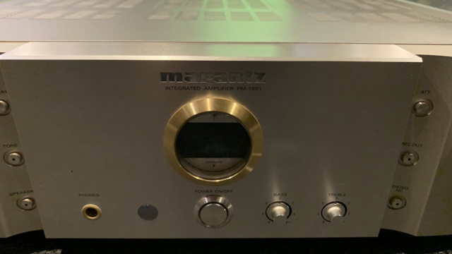 Marantz PM-15S1 Integrated Stereo Amplifier (Used) Img_1710