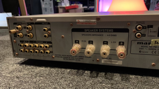 Marantz PM-15S1 Integrated Stereo Amplifier (Used) Img_1715
