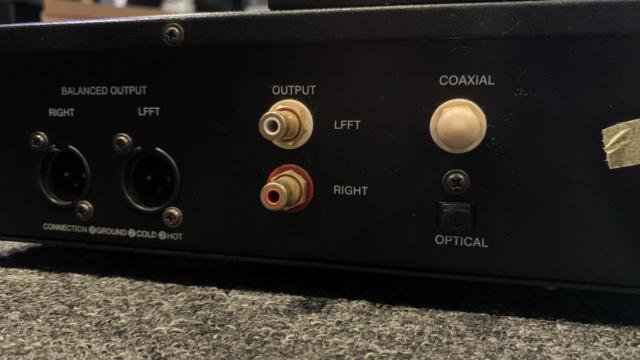 AudioVega CD66 Tube CD Player (Used) Img_1719