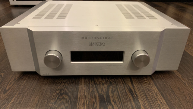 Audio Analogue Maestro Settanta REV 2.0 Integrated Amplifier (Used) Img_1726