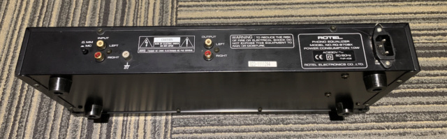 Rotel RQ-970BX Phono preamp (Used) Img_1737