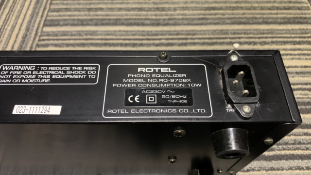 Rotel RQ-970BX Phono preamp (Used) Img_1738