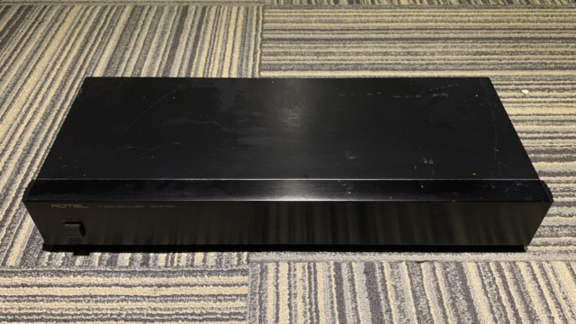 Rotel RQ-970BX Phono preamp (Used) SOLD Img_1739
