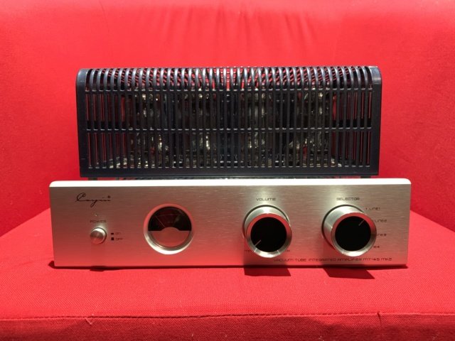 Cayin MT-45 MKII Vacum Amplifier (Used)SOLD Img_1913