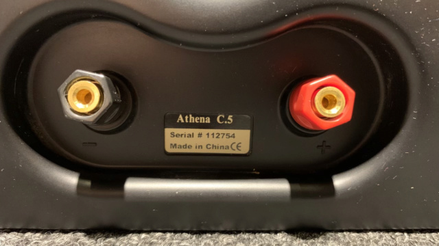 Athena 5.0 Home Theater Speaker (Used) Img_1913