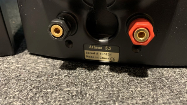 Athena 5.0 Home Theater Speaker (Used) Img_1914