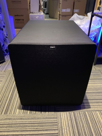 Klipsch SW-115 Powered Subwoofer (used) SOLD Img_1928