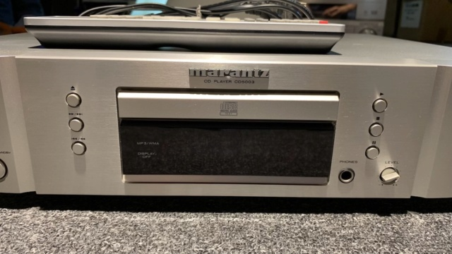 Marantz CD5003 CD Player Silver (Used) Img_2011