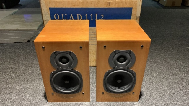 Quad 11L2 Bookshelf Speaker (Used) Img_2025