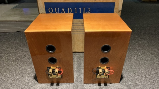 Quad 11L2 Bookshelf Speaker (Used) Img_2026