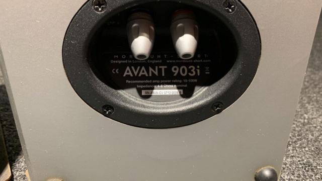 Mordaunt Short Avant 903i BiPolar Speaker (Used) Img_2033